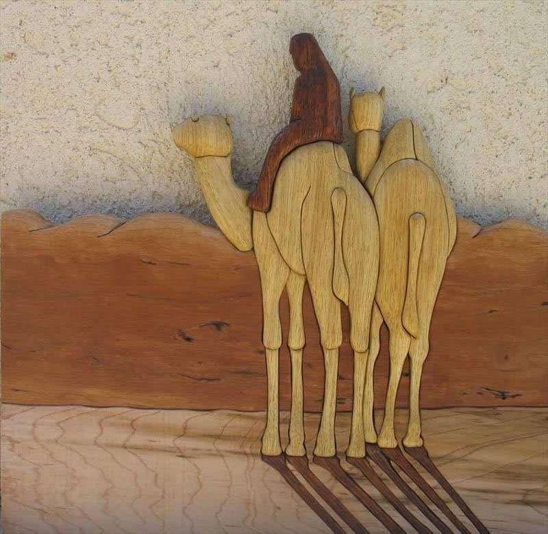 גמלים במדבר, עצי דובדבן, מייפל, אמרי ואלביזיה