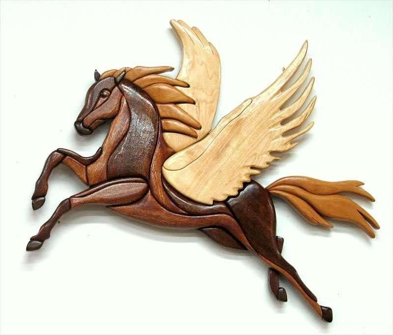 פגסוס - הסוס המכונף, עצי מייפל וספלי