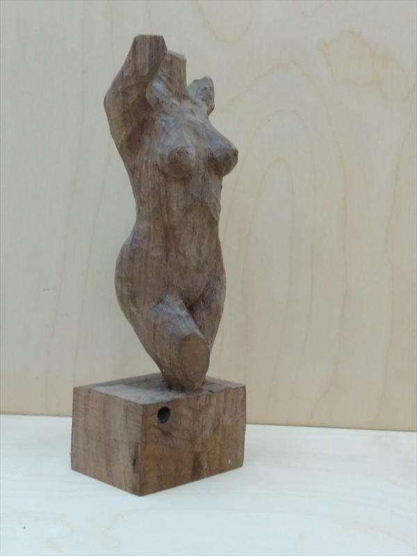 טורסו מעץ אגוז אמריקאי, הראל