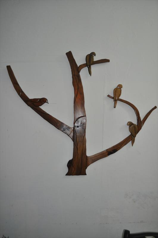 צפרים על ענף, חדווה